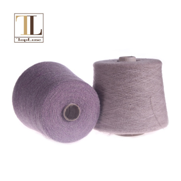 Topline merino wool poliamide nylon blended sweater yarn