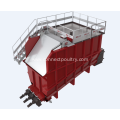 Rendering equipment of raw material silo