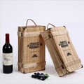 Bottle Gift wine box wooden