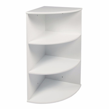 MDF 3-Tier Wall Mounted Corner Shelf MDF 3-Tier Wall Mounted Corner Shelf Bathroom Cabinet Unit