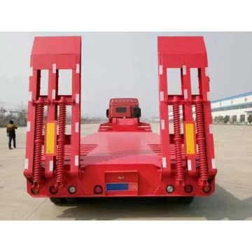 2 Axles 60 Tons Low Flatbed Trailer