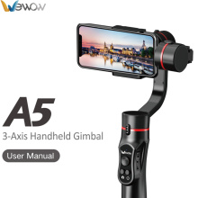 Leading for Three-Axis Smartphone Stabilizer High quality cheap gimbal with APP supply to China Macau Suppliers
