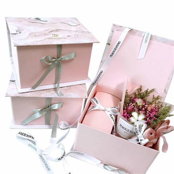 Marble Small Gift Box Wedding Door Gift Box
