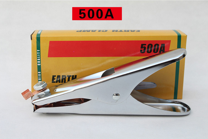 500A Copper Earth Clamp