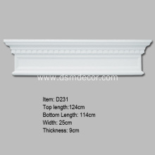 China New Product for Door And Window Accessories,Door And Window Frames,Pilaster Bases,Pilaster Bottoms,Pilaster Capitals,Overdoor Pediments Manufacturer in China Interior Door and Window Pediment supply to Russian Federation Exporter
