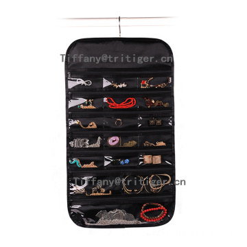 Factory silk Hanging pockets organizer for jewelry
