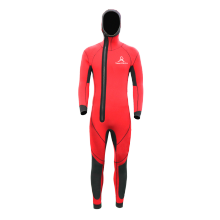 Seaskin Hooded Front Zip One Piece Wetsuit