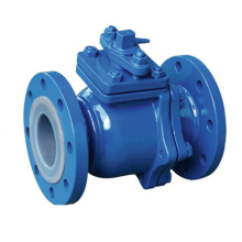 Manual Flange Lining Fluorine Ball Valve