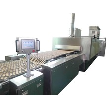 Out-oven machine and peeling device