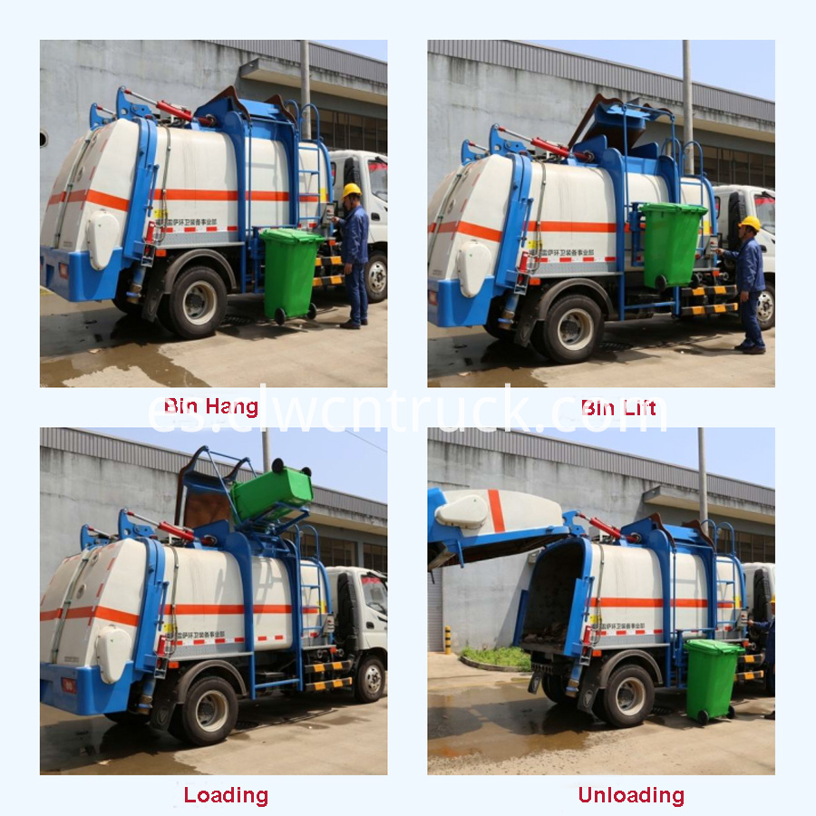 restaurant garbage truck factory