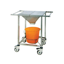 Stainless steel debride cart