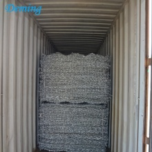 Heavy galvanized gabion boxes/gabion box wire mesh