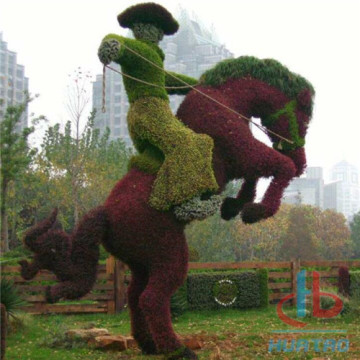 Character Green Plant Sculpture​
