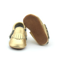 Cheap Baby Shoes Gold Soft Sole Moccasin