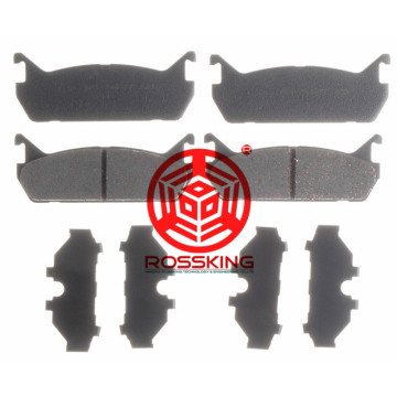 Rear brake pad sets for Ford Escort