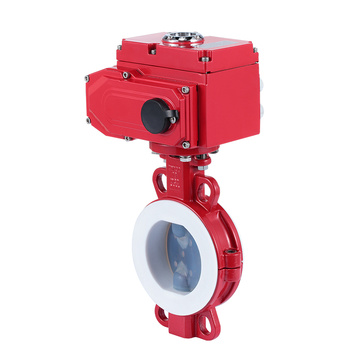 Stainless steel Electric actuator butterfly valve