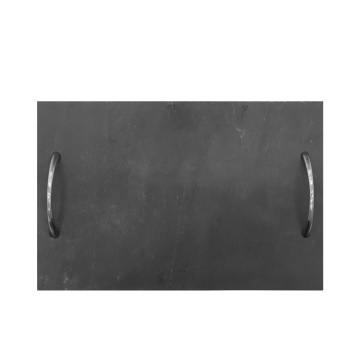 Nature Slate Board With Stainless steel Handle