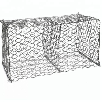 Hot dip galvanized gabion basket retaining wall
