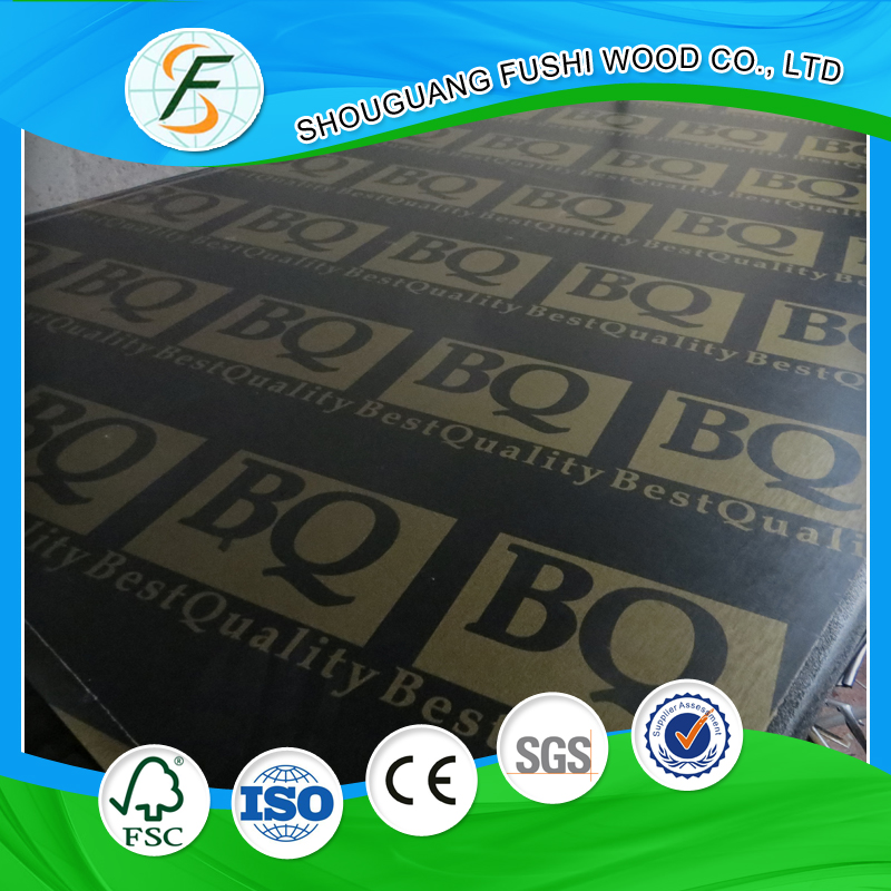 BQMarine Poplar Film Faced Plywood