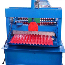 High Speed Corrugated Colored Steel Sheet Forming Machine