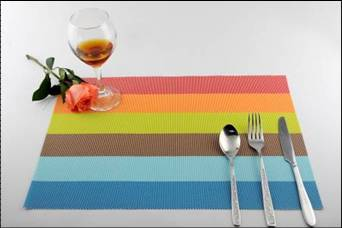 Stripe series of household business dining mat decoration10