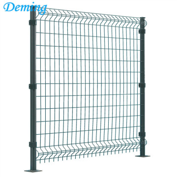3D Fence Wire Mesh Fence Install Easy