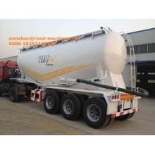 Good User Reputation for Semi Trailer,Skeleton Semi Trailer,Semi Trailer Truck Manufacturer in China SINOTRUK 58000L  Bulk Cement Tank Carrier Trailer supply to France Factories