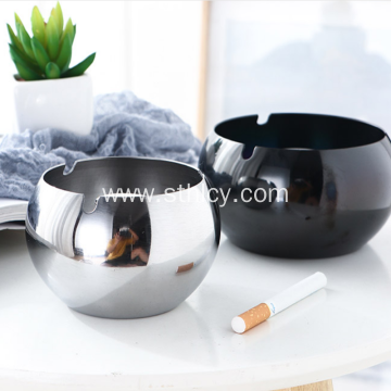 Hindi kinakalawang na Asero Ashtray Creative Home