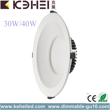 40W 6 8 10 Inch Dimmable Downlights