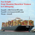 Sea Freight from Shantou Transportation to Chittagong