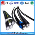 AL/XLPE ABC Cables with Steel Conductor 3x70+54.6+1x16mm