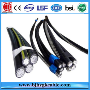 Hot! Low cost 10kv XLPE insulated aerial cable power cable