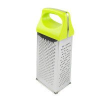 kitchen cheese vegetable garlic grater stainless steel