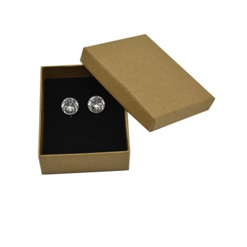 New Design Custom Logo Jewelry Earring Box
