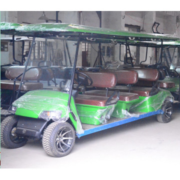 Latest 4 wheels gas powered sightseeing car