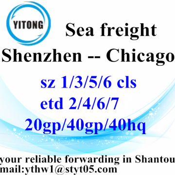 Shenzhen International Shipping Agent to Chicago
