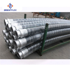 Abrasion Resistant Steel Reinforced Concrete Pumping Hose