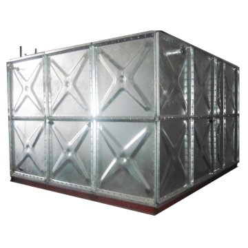 Galvanized Water Preussre Tank With Steel Panel