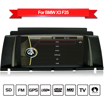 Car GPS navigation for BMW X3 F25