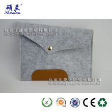 Supply for Grey Felt Laptop Bag High quality felt laptop bag case supply to United States Wholesale