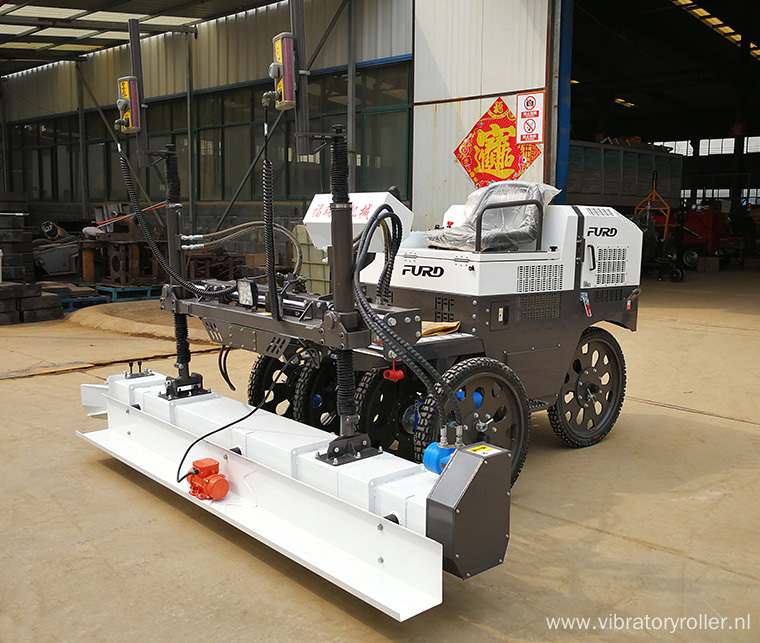 Hydraulic Concrete Laser Screed Leveling Machine  (FJZP-200)