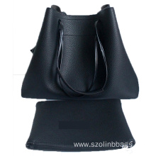 Women Fashion PU Leather Handbag and Purse