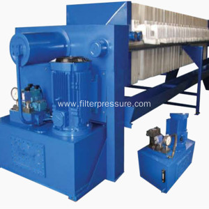 Automatic membrane with belt convery filter press
