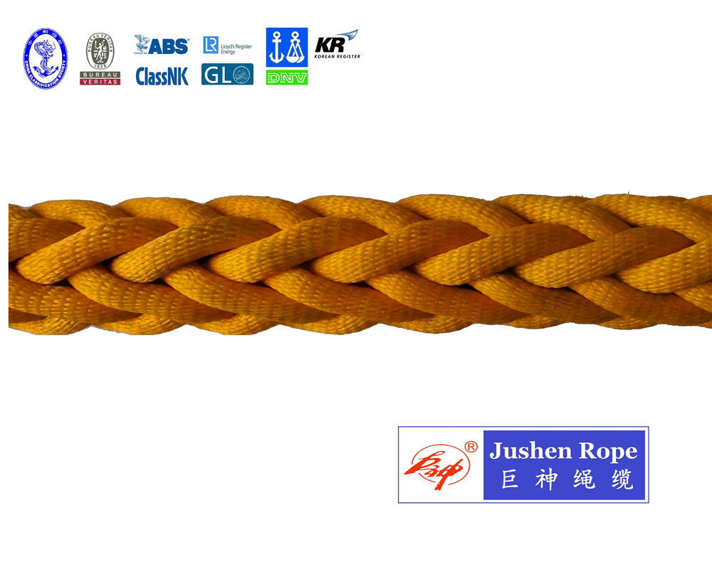 12 Strand Polyester Jacketed Uhmwpe Rope