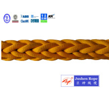 China for China UHMWPE Braided Rope,UHMWPE Rope,UHMWPE Mooring Rope Manufacturer and Supplier 12-Strand Polyester Jacketed /UHMWPE  Rope export to Costa Rica Importers