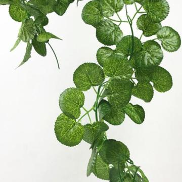 High simulated green rattan artificial vine