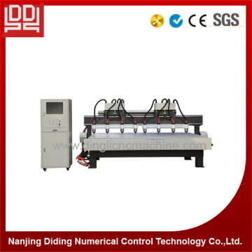 Multi spindle CNC Woodworking Engraving Machine