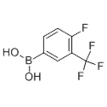 4-FLUORO-3-(TRIFLUOROMETHYL)PHENYLBORONIC ACID CAS 182344-23-6