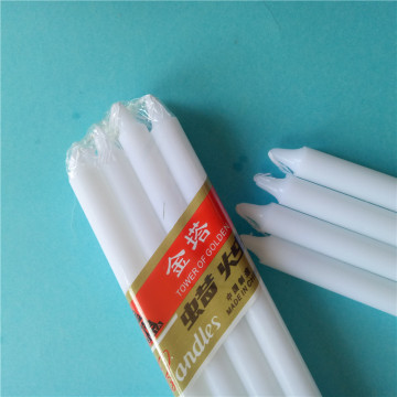 Cheap Price to Africa Cellophane Pack White Candles