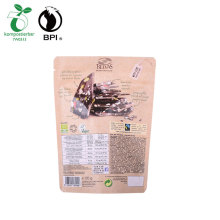 Custom Printed Aluminium Foil Biodegradable Package Valved Coffee Bags